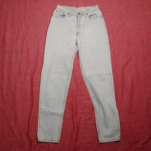 Vtg Levis 512 Slim Tapered Mom jeans 11 USA